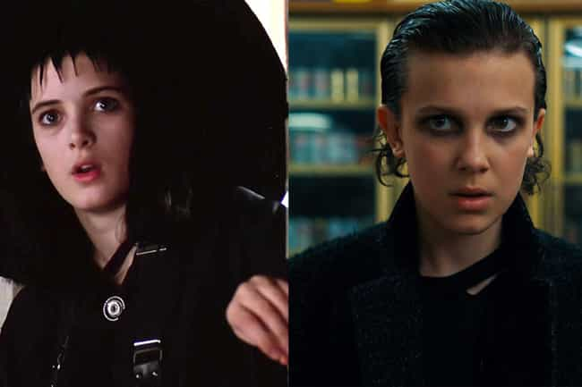 Winona Ryder is listed (or ranked) 3 on the list Who Would Be In 'Stranger Things' If It Were Cast In The '80s?