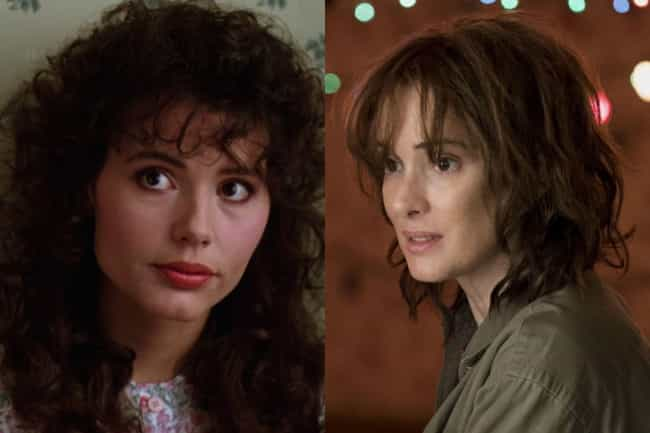 Winona Ryder is listed (or ranked) 4 on the list Who Would Star In Beetlejuice If It Were Made Today