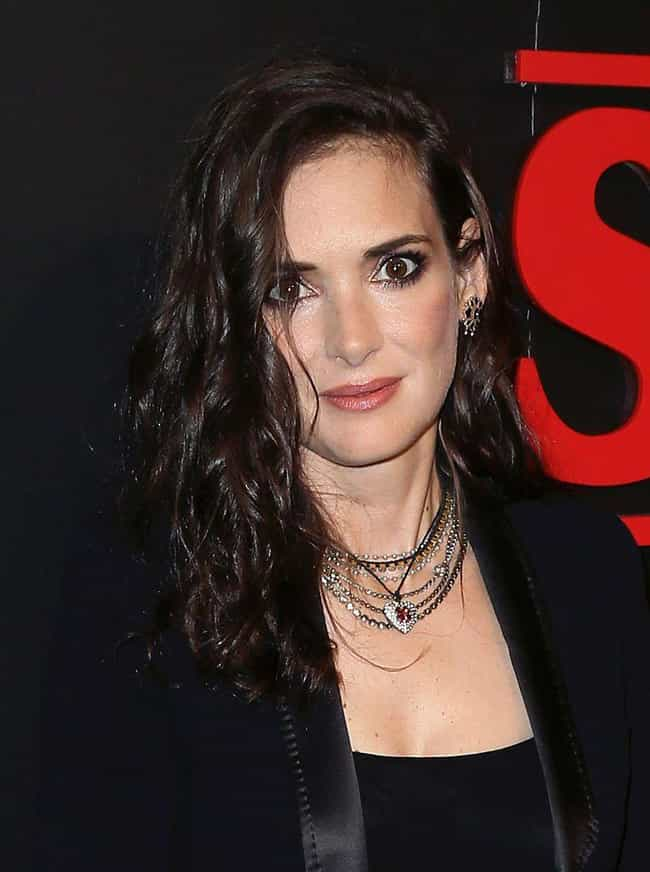 Winona Ryder is listed (or ranked) 8 on the list Famous People Who Never Married