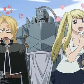 Winry & Edward (Fullmetal Alch is listed (or ranked) 2 on the list The 50+ Cutest Anime Couples of All Time
