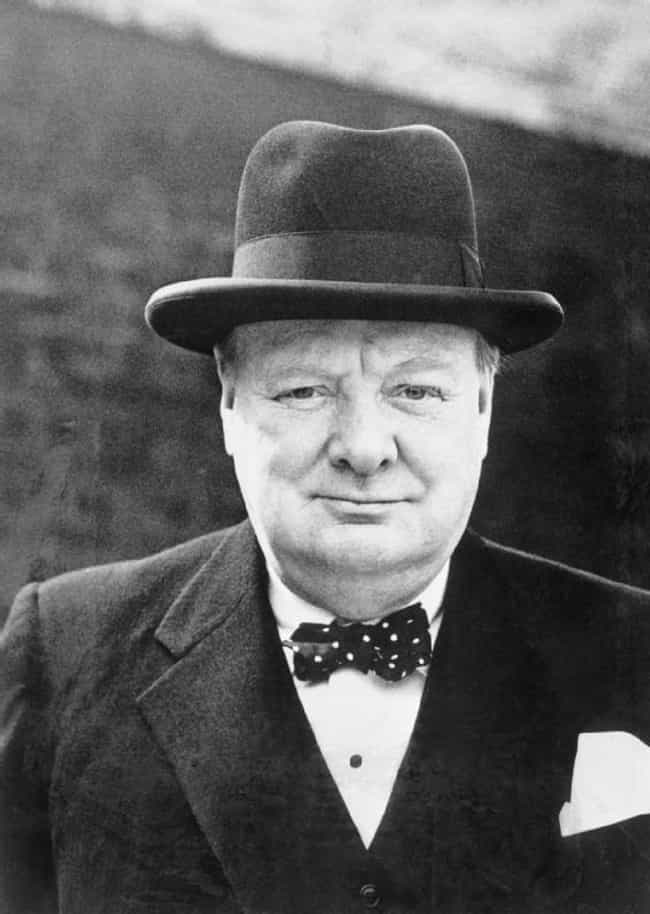 Winston Churchill is listed (or ranked) 4 on the list Which Historical Figure Would Win In An All-Night Drinking Competition?