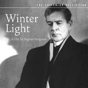 Winter Light is listed (or ranked) 15 on the list The Best Movies Without Soundtracks