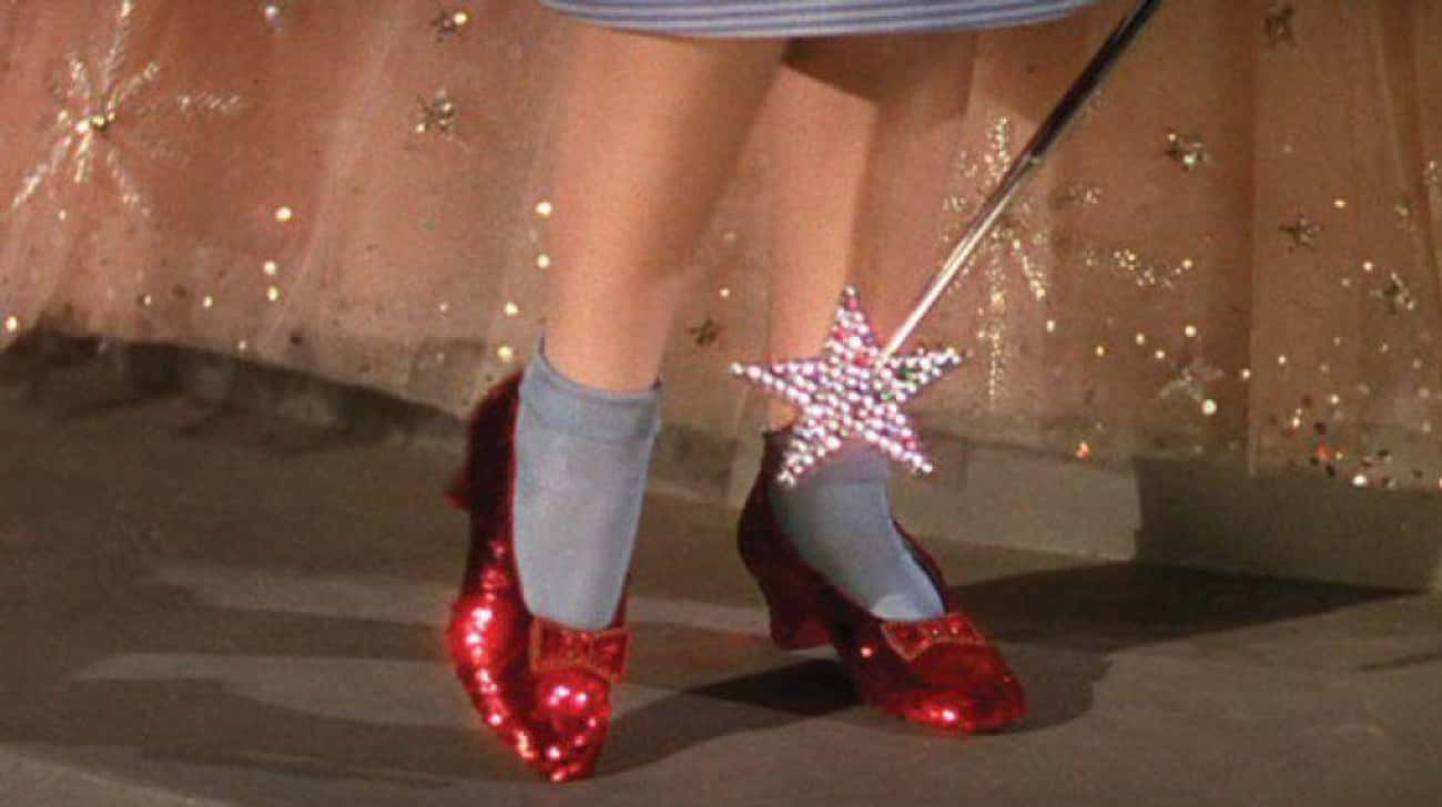 Ruby Red Slippers in 'The Wizard of Oz'