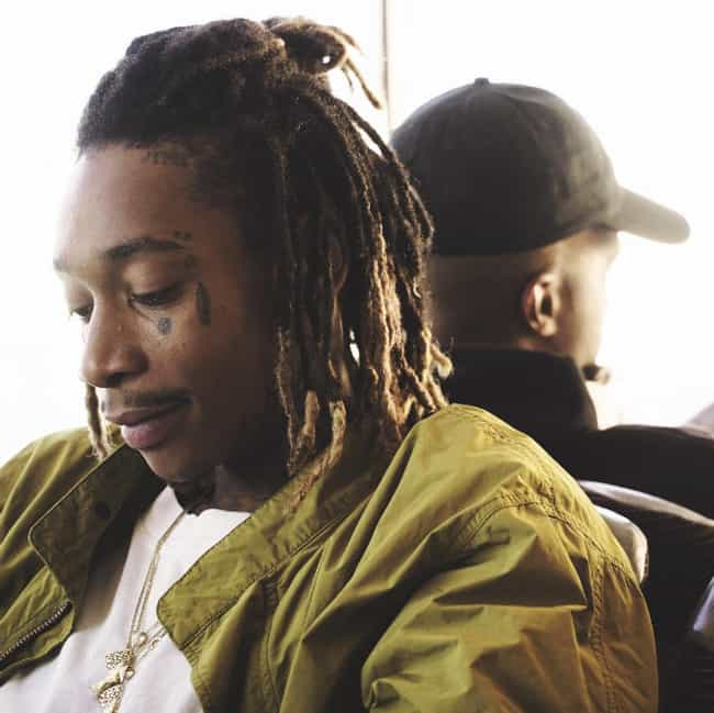Wiz Khalifa is listed (or ranked) 4 on the list Rappers Who Wear Long Hair