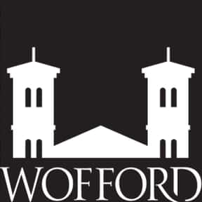 Wofford College is listed (or ranked) 10 on the list All SoCon Schools