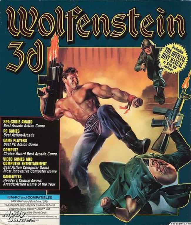 Wolfenstein 3D is listed (or ranked) 4 on the list The Best 'Wolfenstein' Games Ever, Ranked