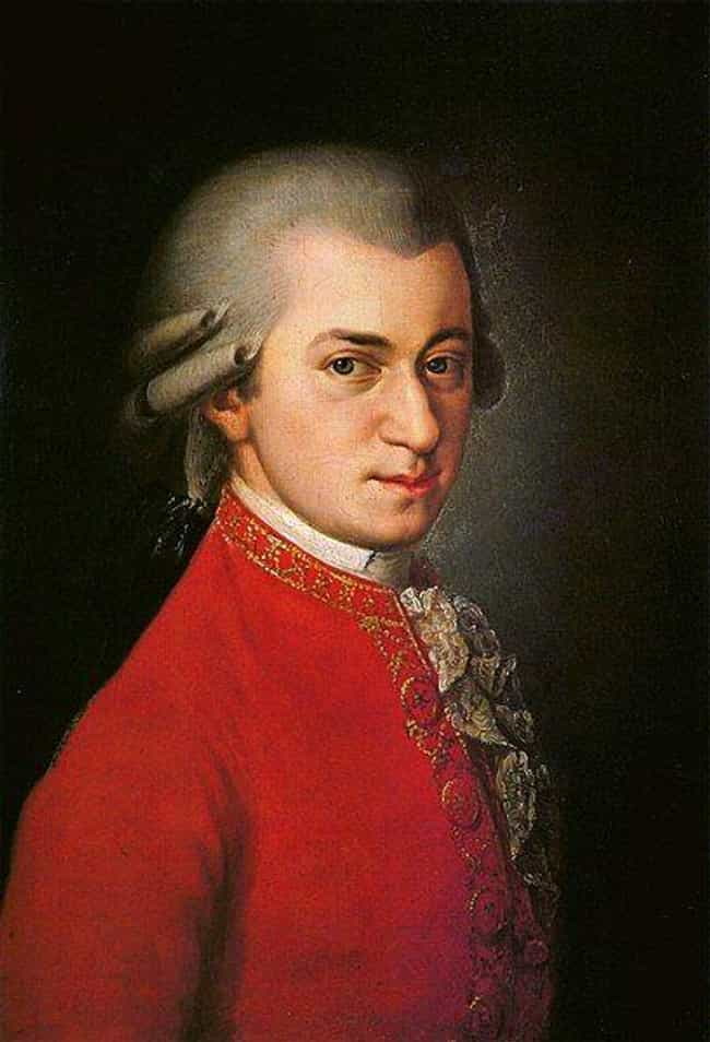 Wolfgang Amadeus Mozart is listed (or ranked) 4 on the list 12 Widely Influential Historical Figures Who Loved Fart & Dick Jokes