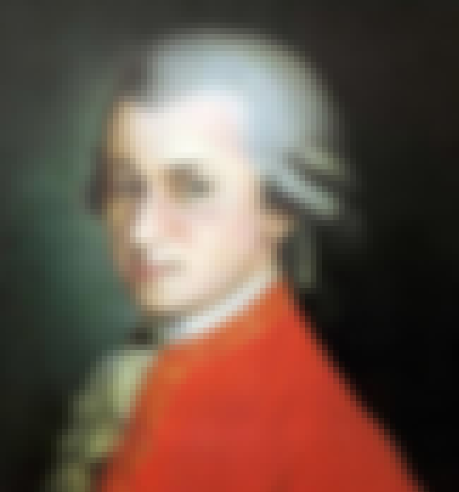 Wolfgang Amadeus Mozart is listed (or ranked) 3 on the list Famous Aquarius Celebrities