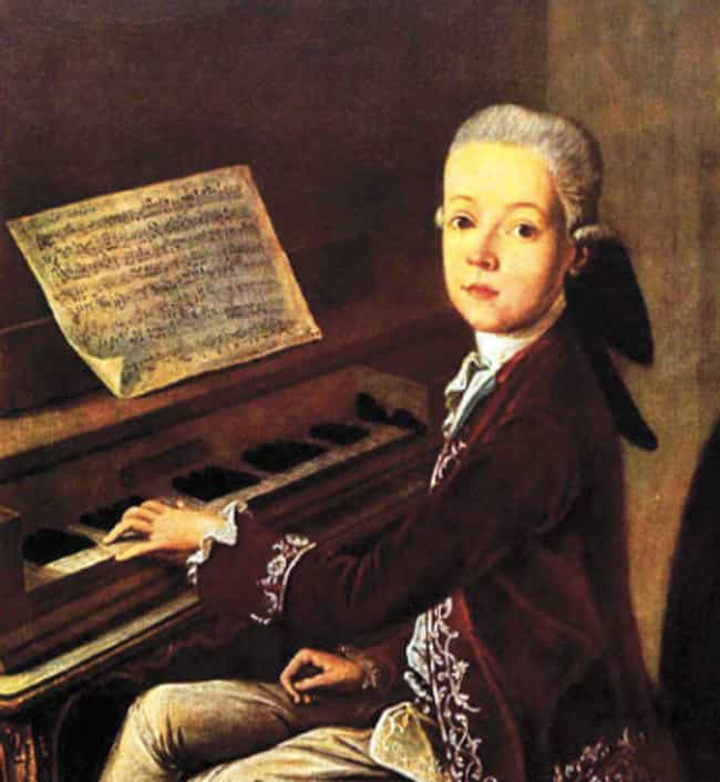Wolfgang Amadeus Mozart is listed (or ranked) 2 on the list 20 Impressive Things Accomplished by Kids Under 10