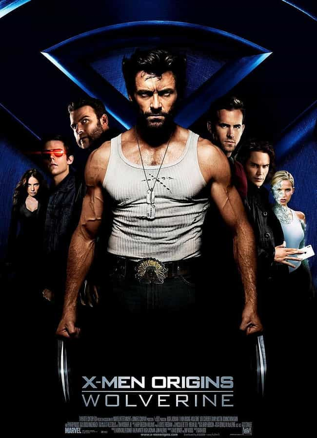 X-Men Origins: Wolverine... is listed (or ranked) 4 on the list The Worst Comic Book Movie Posters