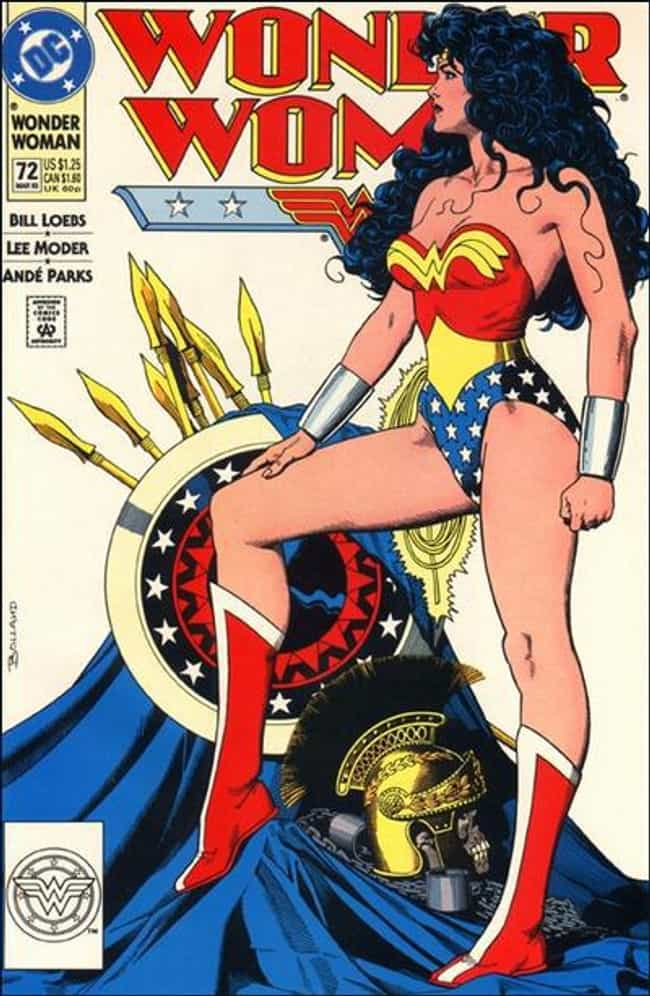 Wonder Woman is listed (or ranked) 4 on the list The Sexiest Female Comic Book Characters