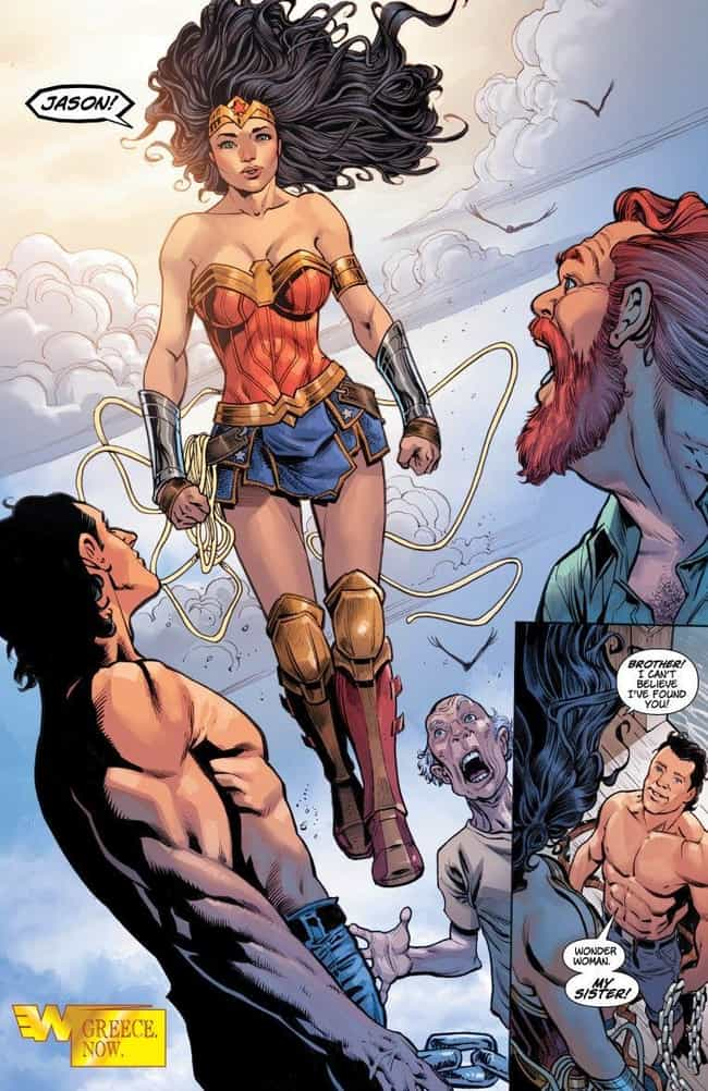 Wonder Woman is listed (or ranked) 3 on the list What Happened To All Your Favorite DC Comic Book Characters In 2017