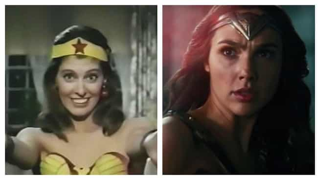 Wonder Woman is listed (or ranked) 3 on the list The Best Superhero Evolution on Film