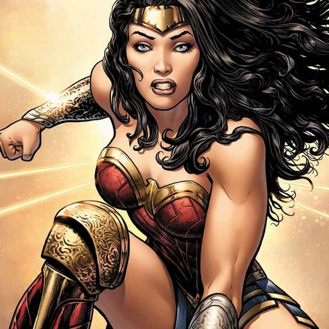Wonder Woman is listed (or ranked) 2 on the list The Best Superhero Mentors