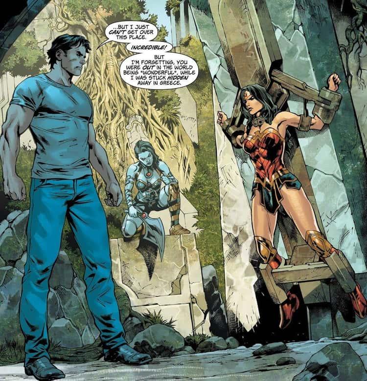 Wonder Woman's Secret Twin Is BFFs With Darkseid's Daughter