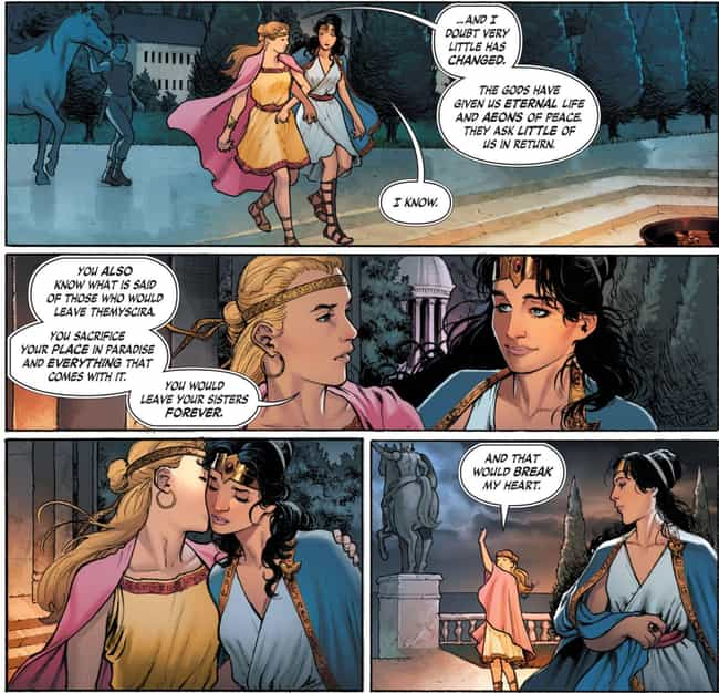 Wonder Woman is listed (or ranked) 3 on the list The Best Queer Comic Book Characters