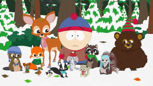 Woodland Critter Christmas is listed (or ranked) 1 on the list The Best Christmas Episodes On 'South Park'