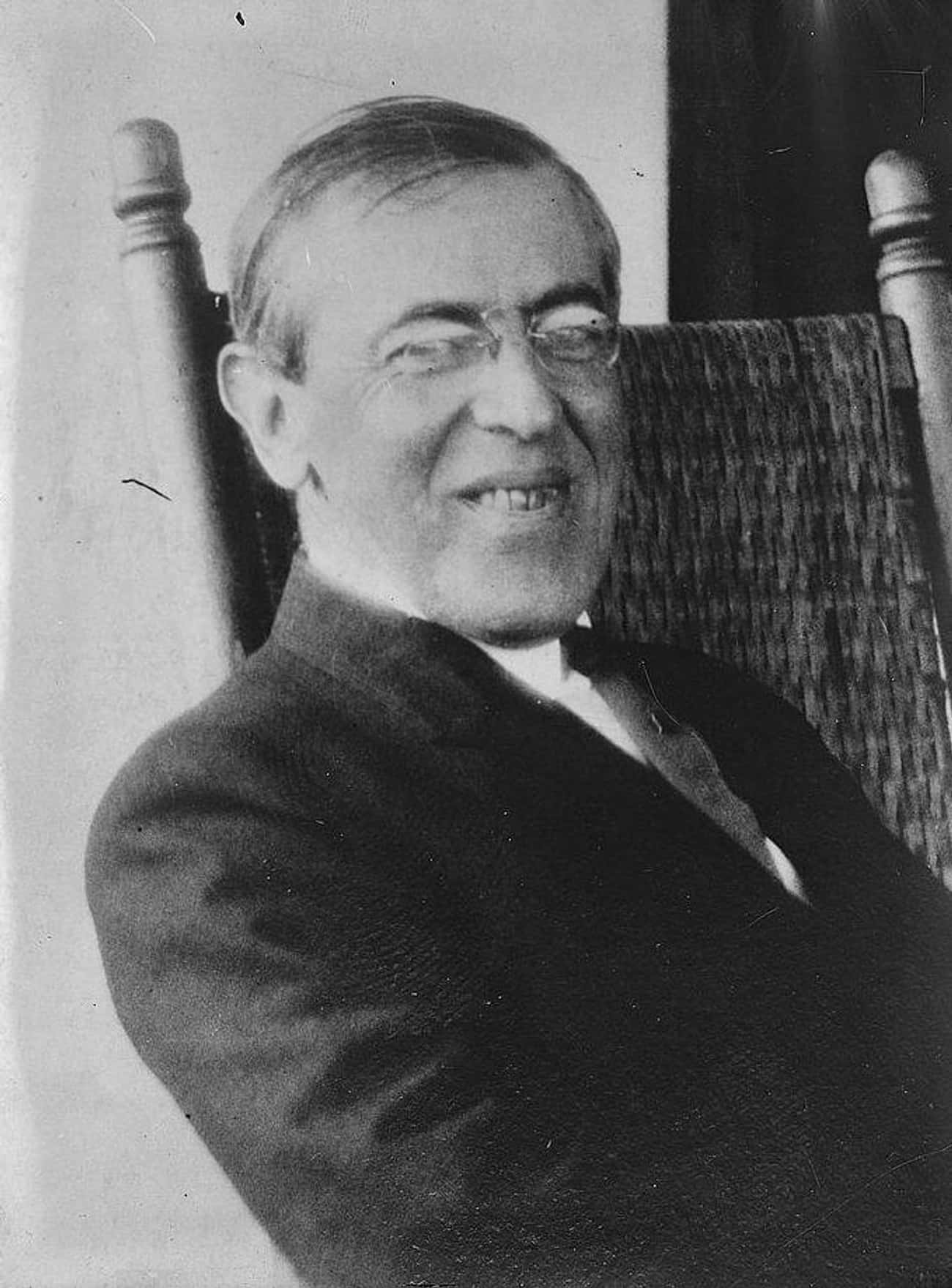 Woodrow Wilson is listed (or ranked) 3 on the list Famous People Who Survived The Spanish Flu