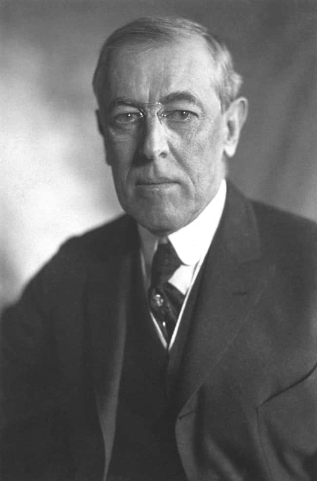 Woodrow Wilson is listed (or ranked) 27 on the list Every U.S. President & Every Medical Problem They've Ever Had