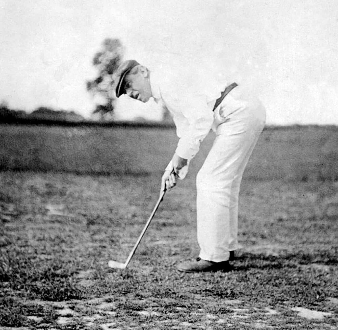 Woodrow Wilson is listed (or ranked) 2 on the list All the Golfing Presidents