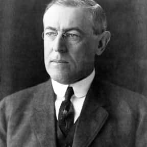 Woodrow Wilson is listed (or ranked) 19 on the list The Greatest U.S. Presidents Of All Time