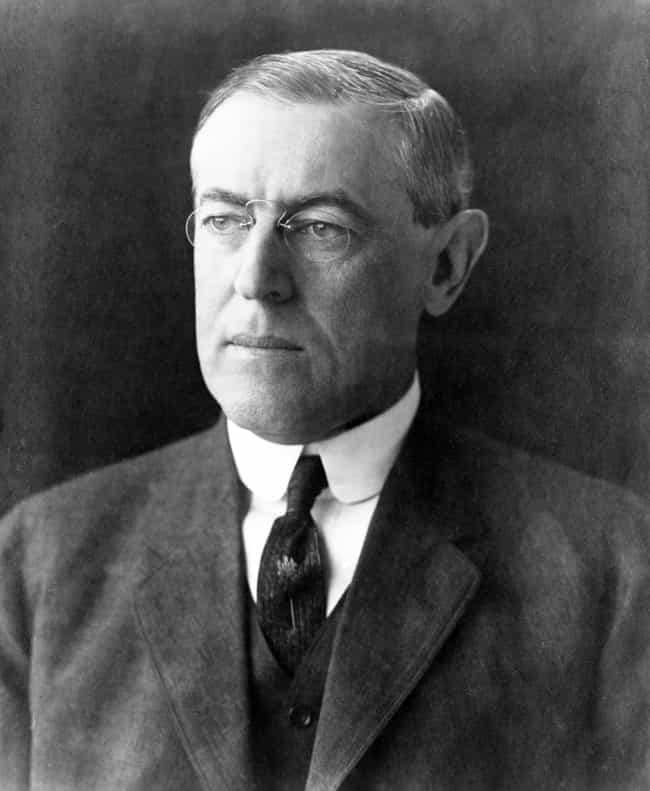 Woodrow Wilson is listed (or ranked) 1 on the list The Worst U.S. Presidents