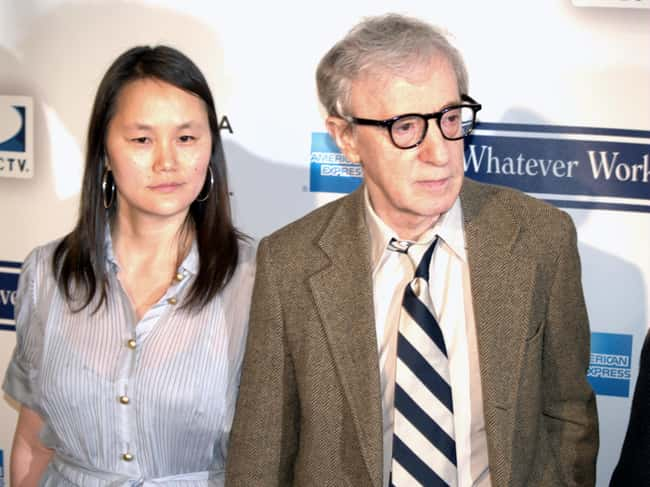 Woody Allen is listed (or ranked) 6 on the list 48 Famous Couples with Huge Age Differences