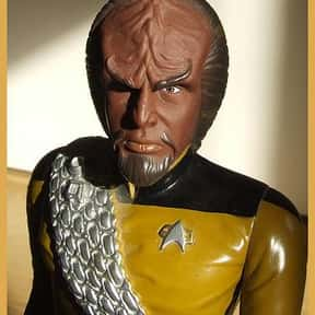 Worf is listed (or ranked) 9 on the list The Greatest TV Aliens Living Among Earthlings