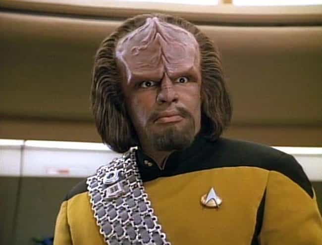 Worf is listed (or ranked) 2 on the list 17 Fictional Characters Whose Ages You Were Totally Wrong About