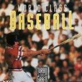 World Class Baseball is listed (or ranked) 9 on the list All Wii Baseball Games, Ranked Best to Worst