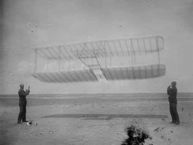 Wright brothers is listed (or ranked) 8 on the list Historical Events You Most Want To Go Back and See