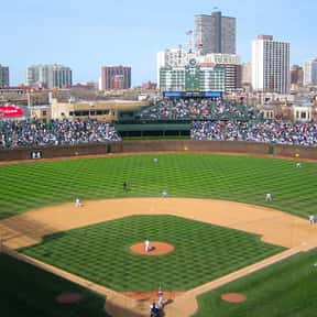 Wrigley Field is listed (or ranked) 9 on the list The Best MLB Ballparks