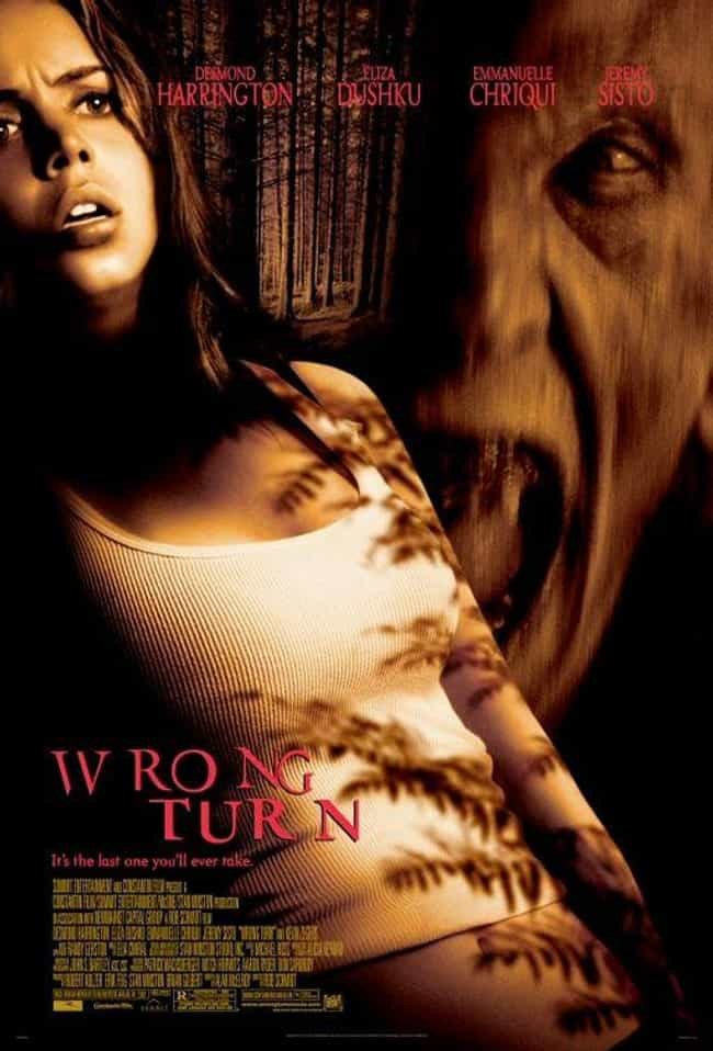 Wrong Turn is listed (or ranked) 2 on the list Underrated But Amazing Horror Movies From The 2000s Every Horror Fan Should See