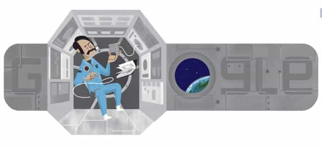 Wubbo Ockels is listed (or ranked) 1268 on the list Every Person Who Has Been Immortalized in a Google Doodle