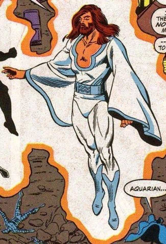 Wundarr the Aquarian is listed (or ranked) 3 on the list Obscure Superpowers That Would Be Genuinely Handy In Your Everyday Life