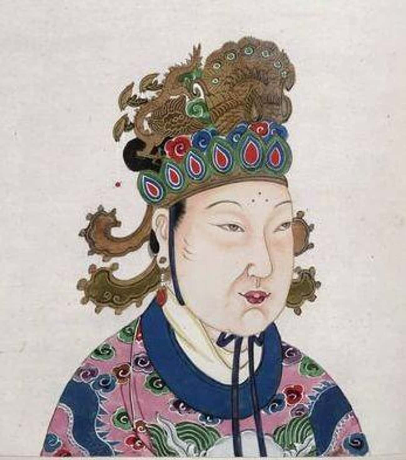 Empress Wu Zetian Of China Was is listed (or ranked) 3 on the list The Most Ruthless Queens And Female Rulers Of All Time