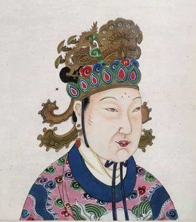 Wu Zetian is listed (or ranked) 3 on the list The Most Ruthless Queens And Female Rulers Of All Time