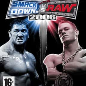 WWE SmackDown! vs. Raw 2006 is listed (or ranked) 12 on the list The Best Wrestling Games of All Time