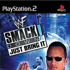 WWF SmackDown! Just Bring It is listed (or ranked) 19 on the list The Best Wrestling Games of All Time