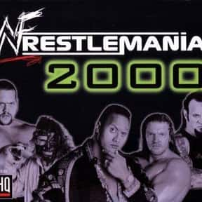 WWF WrestleMania 2000 is listed (or ranked) 5 on the list The Best Wrestling Games of All Time