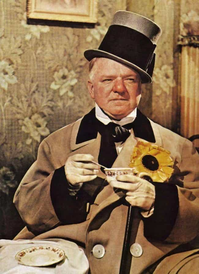 W. C. Fields is listed (or ranked) 4 on the list 16 Old Hollywood Stars Who Were Drunk All The Time