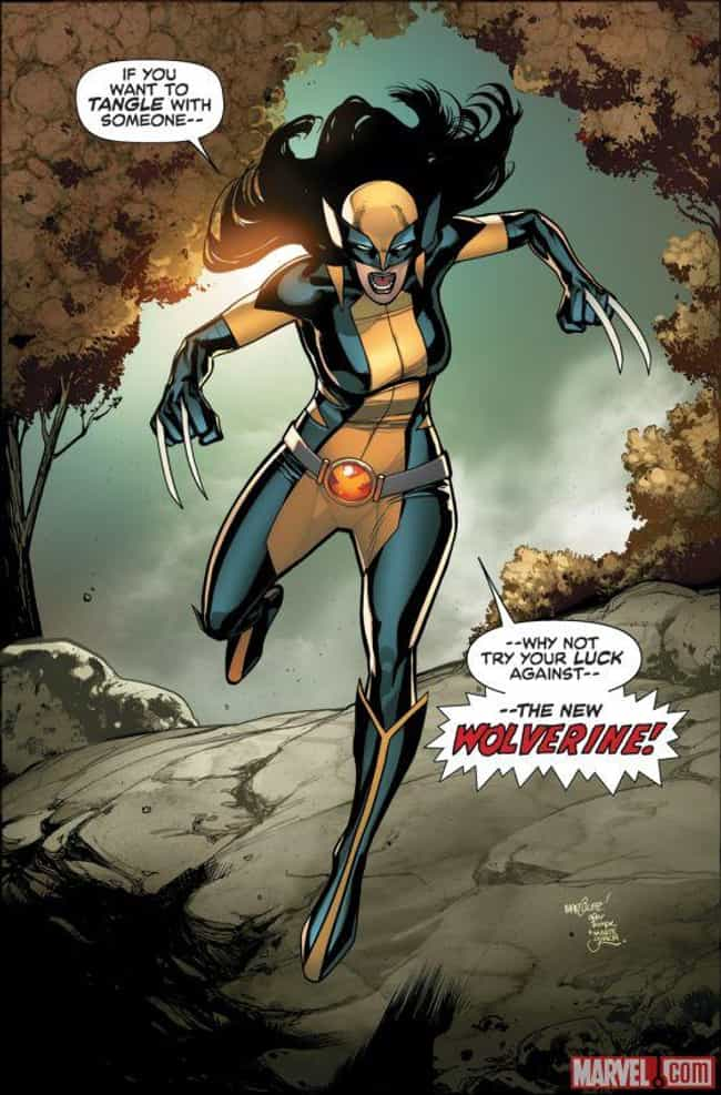 X-23 is listed (or ranked) 3 on the list Marvel Characters Who Really Should Have Action Figures