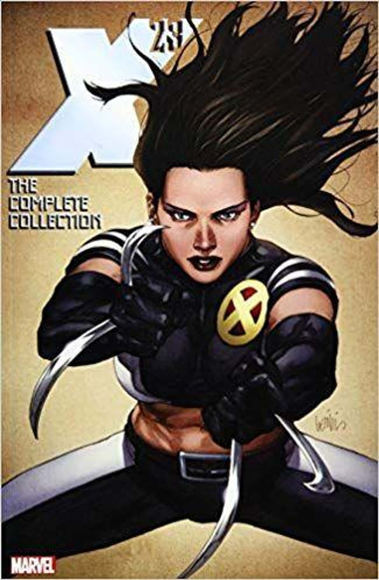 X-23 is listed (or ranked) 4 on the list 10 Gender Swapped Comic Book Characters
