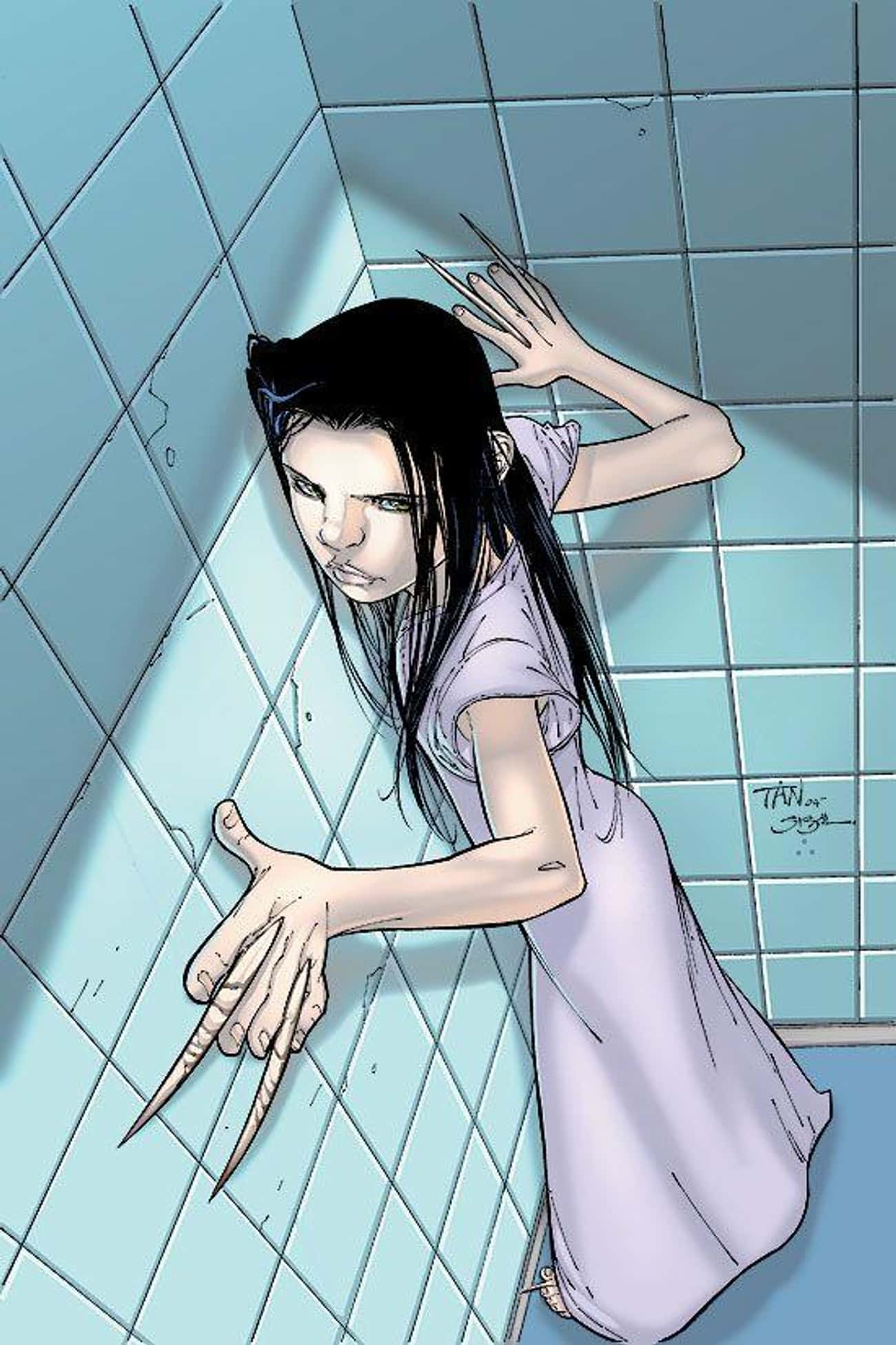 X-23 is listed (or ranked) 1 on the list Marvel Superheroes With The Most Harrowing Origin Stories