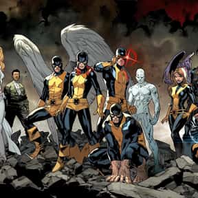 X-Men is listed (or ranked) 1 on the list The Best Superhero Teams & Groups