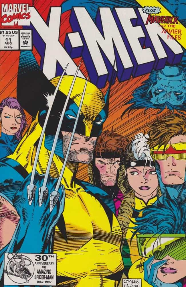 X-Men is listed (or ranked) 1 on the list The Most Popular Superhero Teams By Comic Book Appearances