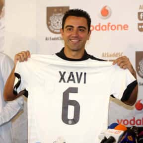 Xavi is listed (or ranked) 2 on the list The Best Soccer Players from Spain