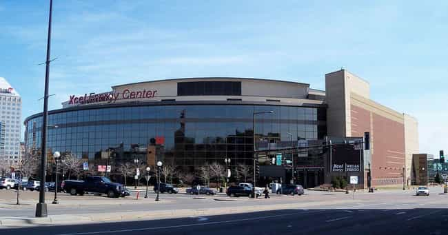 Xcel Energy Center is listed (or ranked) 1 on the list The Best NHL Arenas