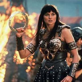 Xena is listed (or ranked) 24 on the list The Greatest Female TV Characters of All Time