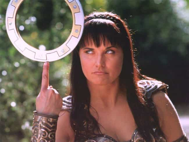 Xena: Warrior Princess is listed (or ranked) 6 on the list The Dumbest Fictional Weapons Of All Time